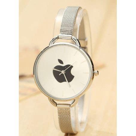 jam tangan wanita logo apple silver jakartanotebookcom