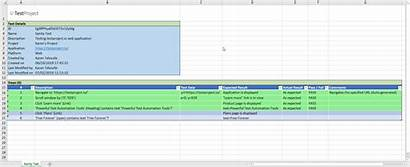 Template Case Test Excel Simple Manual Templates