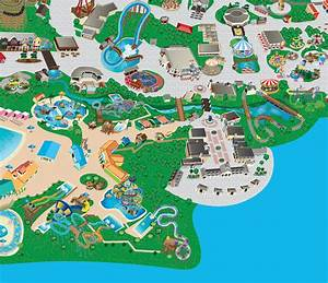 Six Flags Park Maps - Illustration on Behance