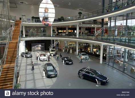 Audi Forums by Audi Forum Showroom Neckarsulm Germany Stock Photo