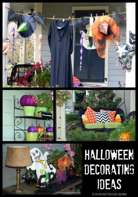 outdoor halloween decorations  fright  fun
