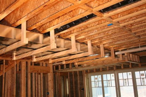 59 Framing Around Ductwork In Basement, How To Frame