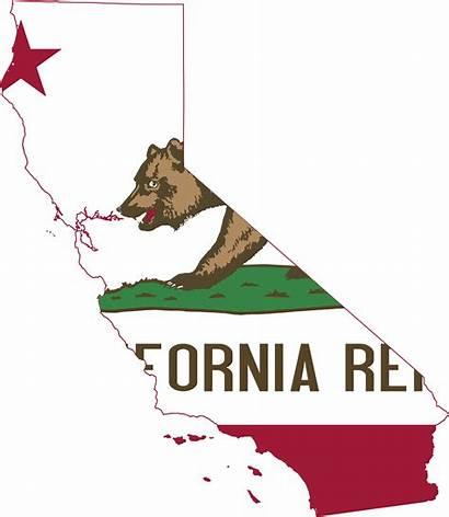 California Map Flag Svg 2000px Transparent Pluspng