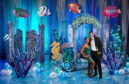 underwater event theme decorations  stumps prom