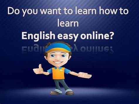 How To Learn English Easy Authorstream