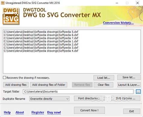 Do you need to convert dwg autocad files to svg? Download DWG to SVG Converter MX 2019 6.6.8.170