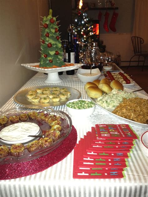Christmas Cocktail Party Food Ideas