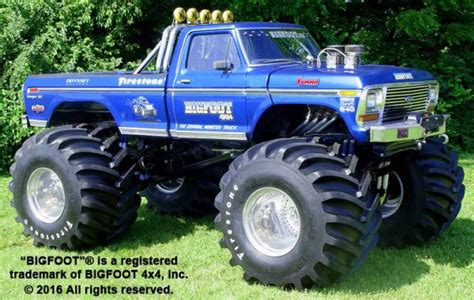 monster truck bigfoot video history of bigfoot bigfoot 4 4 inc monster truck