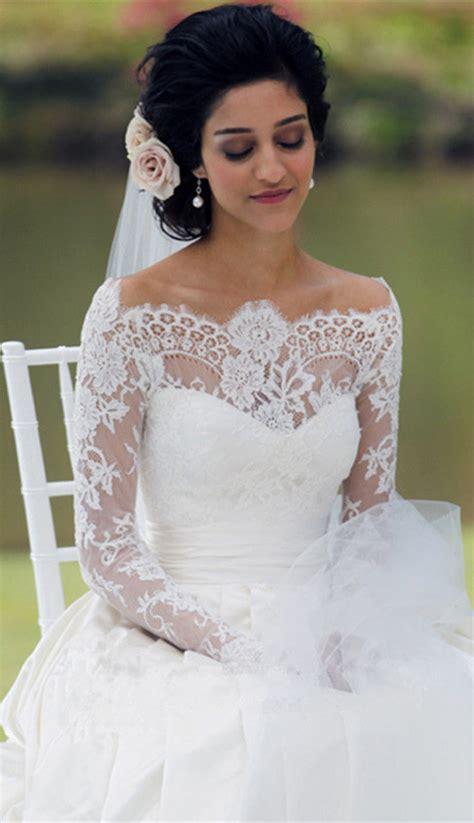 Timeless Lace Appliques Princess Wedding Dress 2016 Long ...