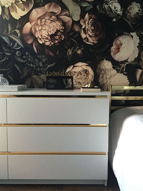 Ikea Möbel Hack by Malm Kommode Mit Goldenen Details Ikea Hacks