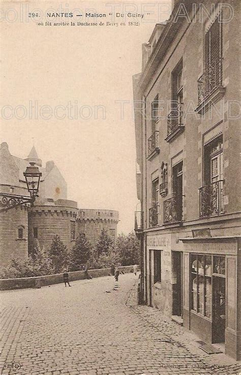 maison des avocats nantes nantes maison ancienne cartes postales