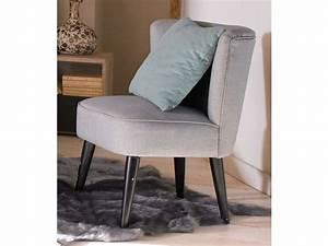 Fauteuil Gris Conforama : fauteuil james coloris gris conforama pickture ~ Teatrodelosmanantiales.com Idées de Décoration