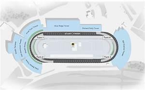 Daytona Interactive Seating Chart Maps Martinsville Speedway