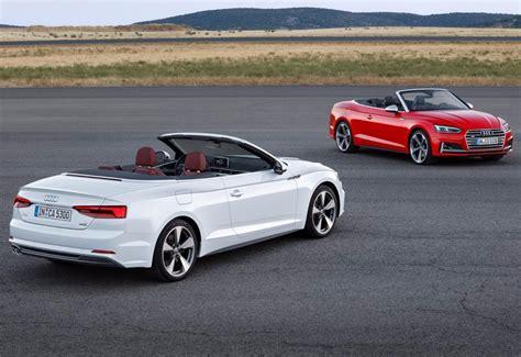 News  Audi Previews Allnew A5 Cabriolet Ahead Of La Auto