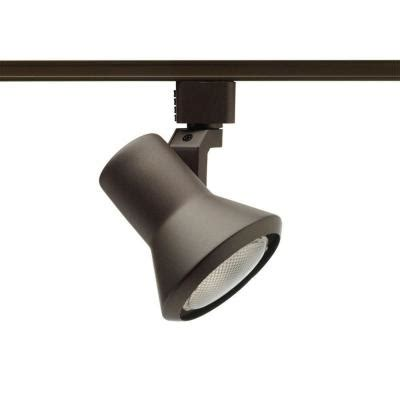 juno 50 watt flare bronze track lighting r551bz the home