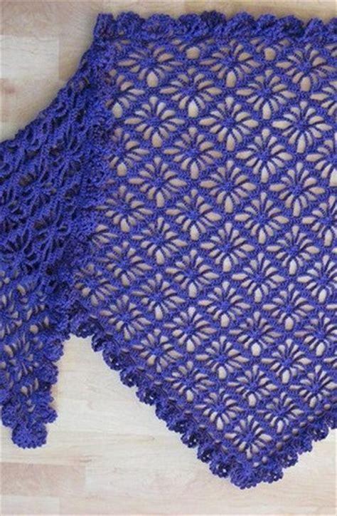 crochet diamond stitch shawl crochet kingdom