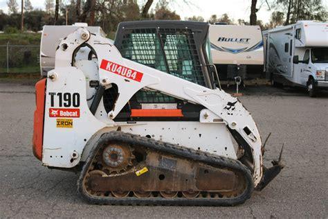 bobcat  skid steer pacific coast iron  heavy equipment dealer