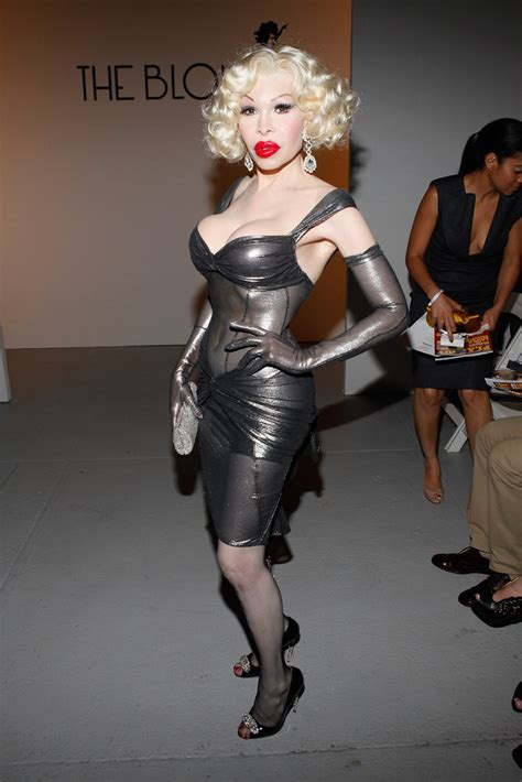amanda lepore leather dress amanda lepore clothes