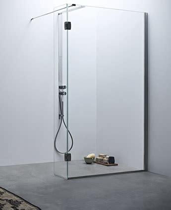 parete doccia divisoria fissa  anta mobile linea