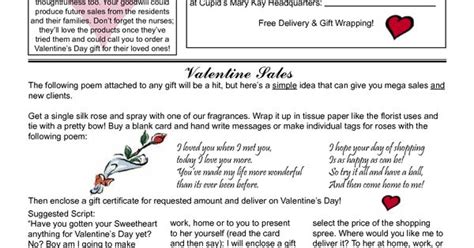 Kay Mary Flyers Day Valentines