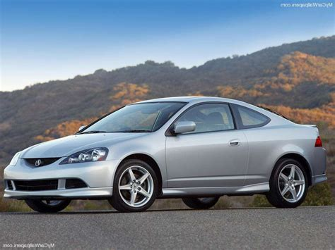 black acura rsx with white rims image 458