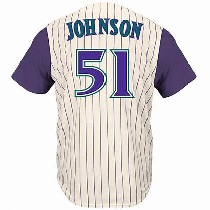 Jersey Diamondbacks Arizona Mlb Majestic Johnson Randy