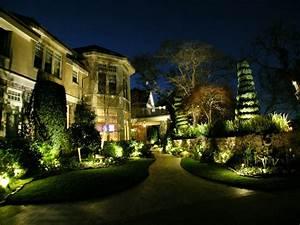 Alamo led landscape lighting conversion by artistic