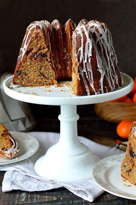 mincemeat bundt cake  moist lightly spiced bundt cake
