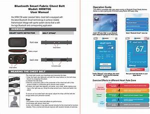 Rich Green Valley Technology Hrm706 Bluetooth Smart Fabric
