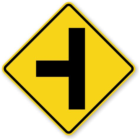 Side Road Traffic Sign  W22l, Sku Xw22l. Two Wheeler Driving Test Signs Of Stroke. Gmail Signs Of Stroke. Horse Farm Signs Of Stroke. Ada Compliant Signs Of Stroke. Dog Poop Signs. Ankle Pain Signs. Acute Bronchitis Signs. Gram Positive Signs