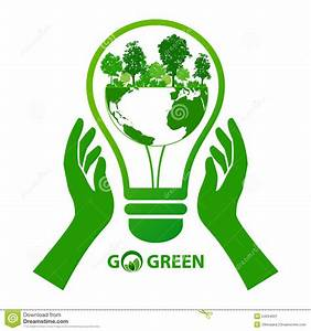 Energy save idea concept stock vector. Image of ecological ...