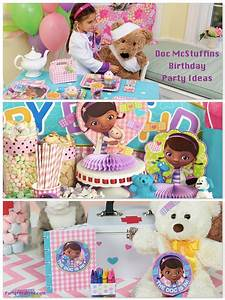 Doc McStuffins Birthday Party Planning, Ideas & Supplies