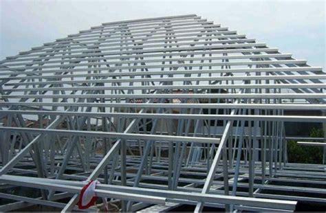 menghitung volume rangka atap baja ringan rizki jaya