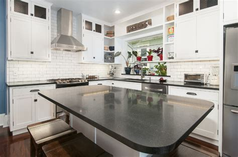 absolute black granite countertops white cabinets