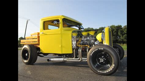 Ford Hot Rod Pickup Truck Youtube