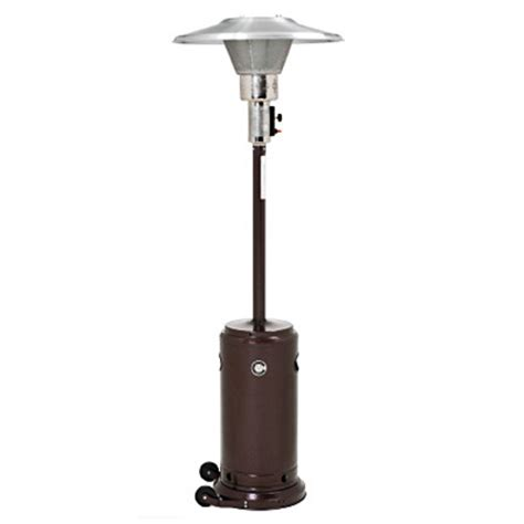 patio heaters ember hammered bronze commercial patio