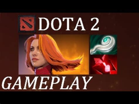 waaaa my rage dota 2 lina gameplay commentary youtube