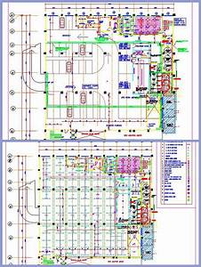 Commercial Basement Parking and Services Plan n Design
