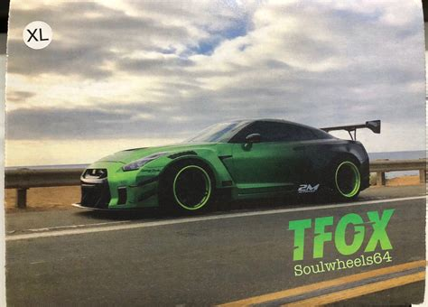 hot wheels guaczilla  gtr  tanner fox xl tshirt