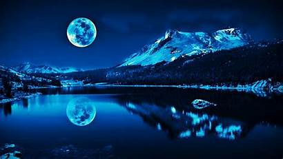 Moon Super Deep Wallpapers Wallsev Hues Reflecting