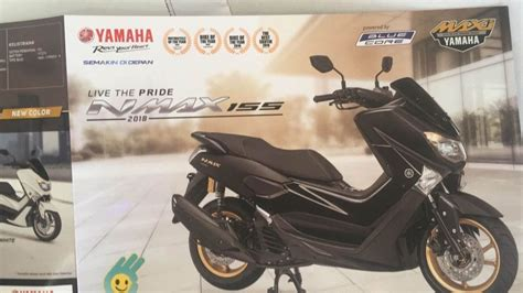 Harga Yamaha Nmax Facelift 2018 by Yamaha New Nmax 155 Facelift 2018 Resmi Di Rilis