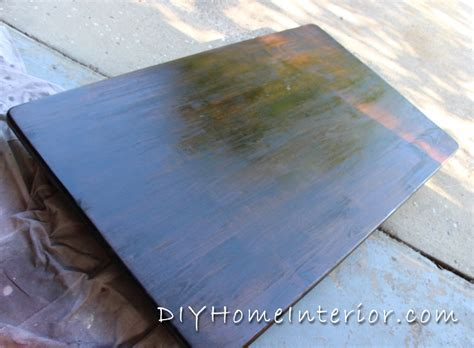 Hometalk   Refinishing A Dining Room Table With Paint and