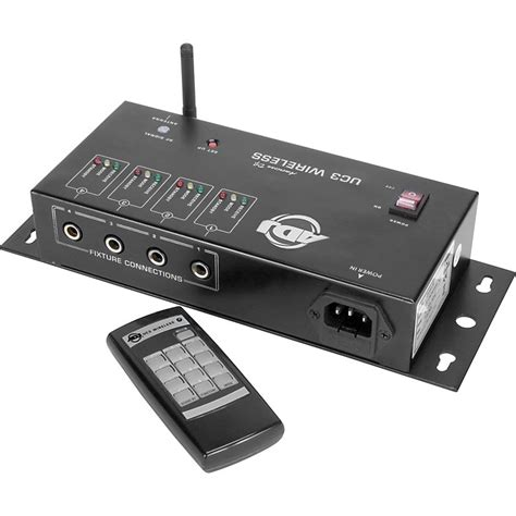 american dj light controller american dj uc3 wireless lighting controller musician 39 s