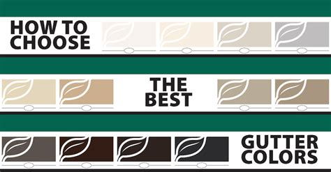 How To Choose The Best Gutter Colors  Beldon® Roofing Company