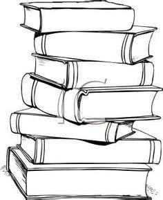 stack  books clip art  books clip art image black