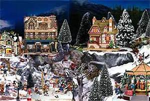 Winter Christmas Villages History and Displaying
