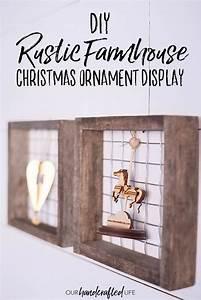 Diy, Ornament, Display, -, Farmhouse, Christmas, Crafts