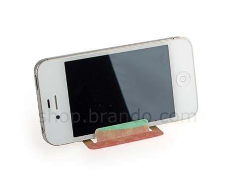 credit card size smart phone holder