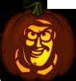 pumpkin patterns buzz lightyear and toy story on pinterest With buzz lightyear pumpkin template