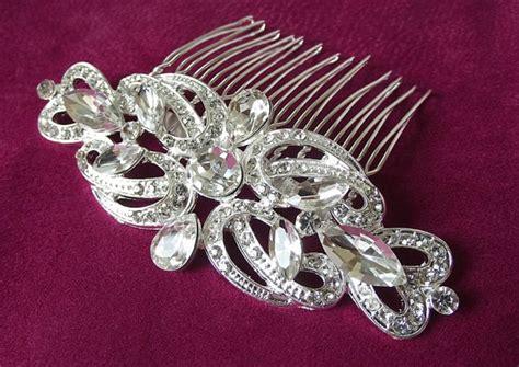 Bridal Hair Comb, Crystal Hair Piece,wedding Hair Comb